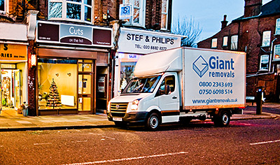 Giant Removals Ltd - London Removals Company